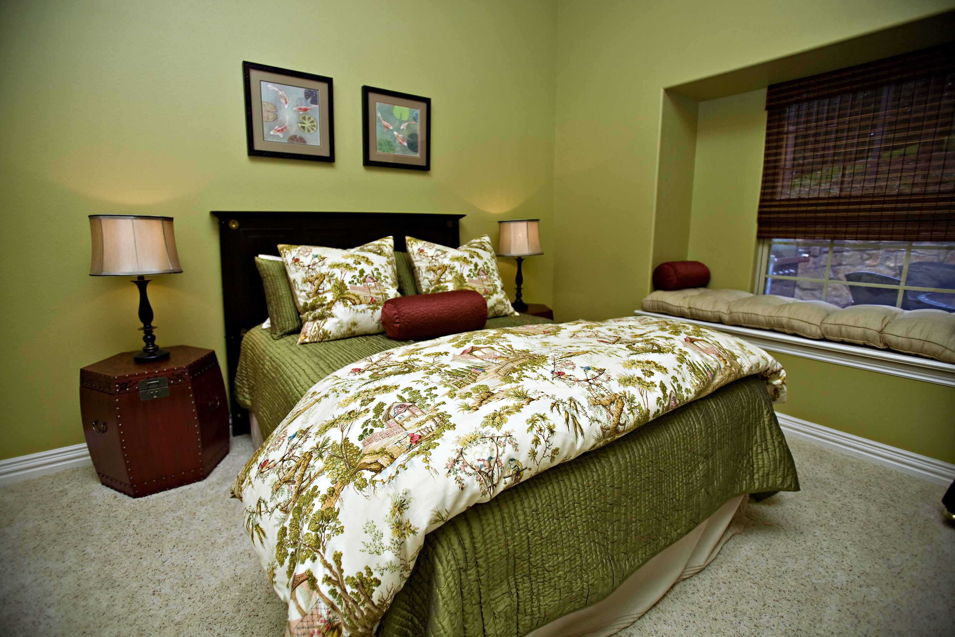 Lime Green Bedroom Curtains Brown And Green Bedroom Decorating Ideas