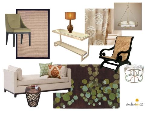 1300 Jackson Living Room