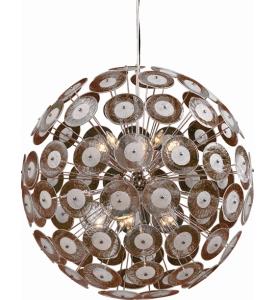 Cyan design dandelion chandelier return address labels aloadofball Gallery