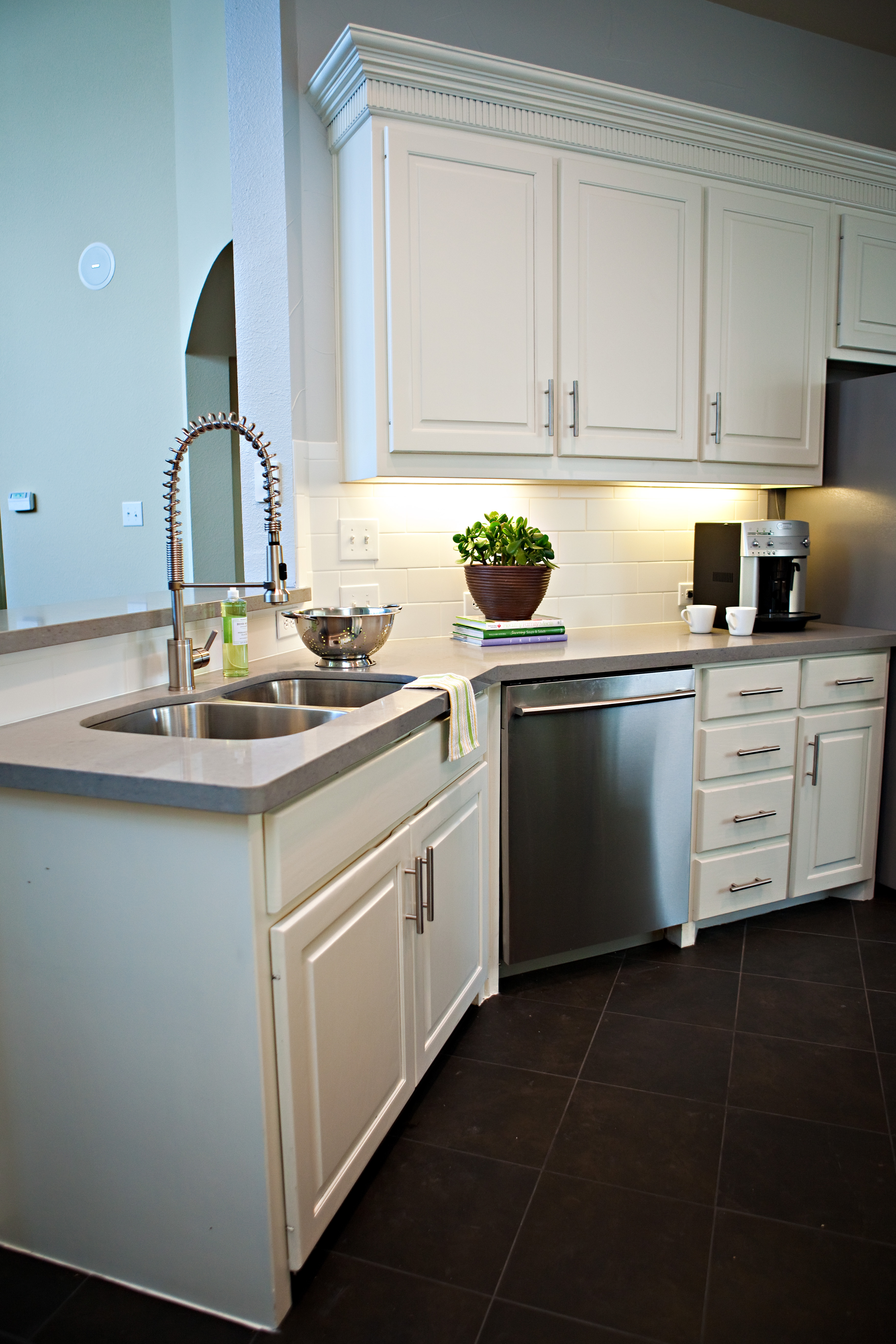 our countertops tour pin grey quartz shaker reno and cabinets light kitchen