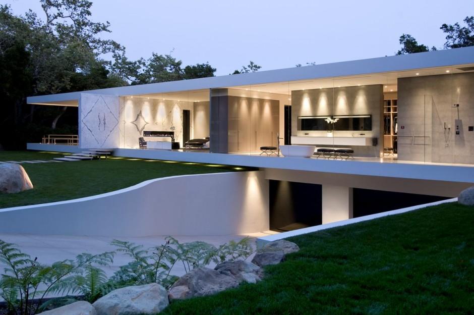 People who live in glass houses - Casas de una sola planta ...